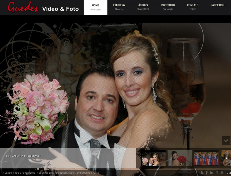 Site Guedes Fotos e Video