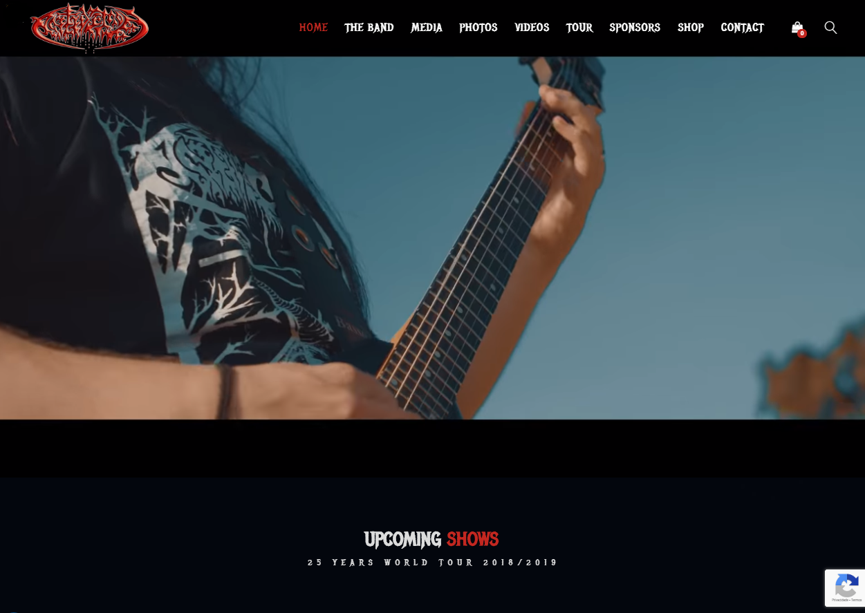 Site Antidemon Band