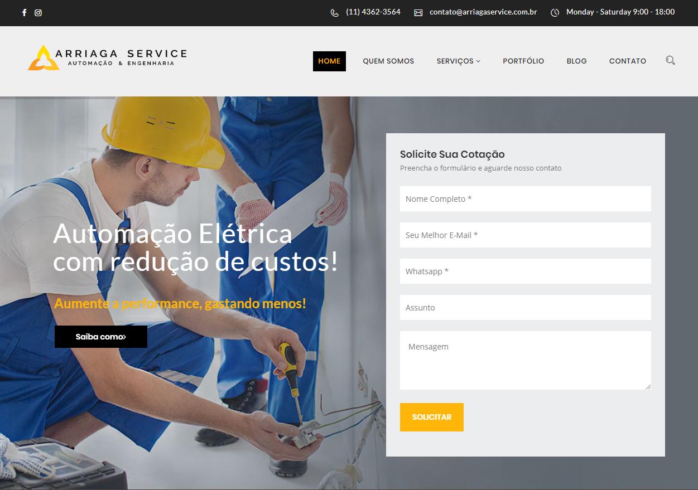Site Arriaga Service