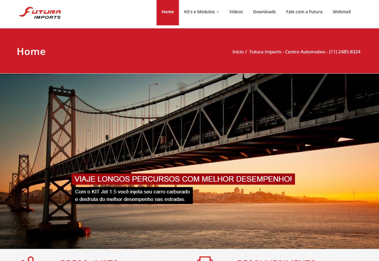 Site Futura Imports